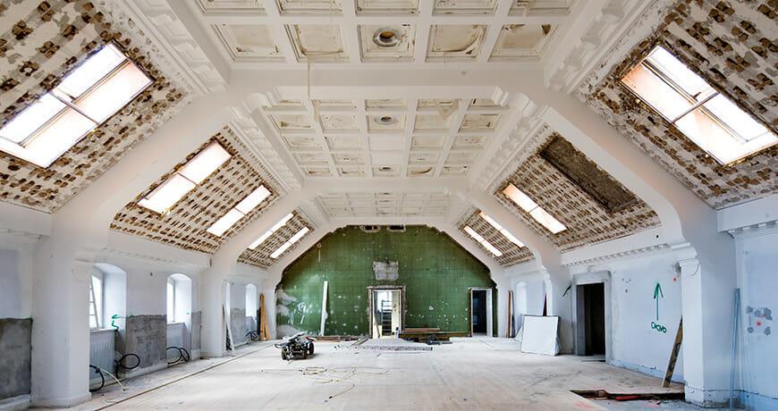 Renovering; Postgården