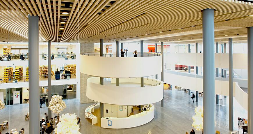 Bygningsautomation; Københavns Universitet, Søndre City