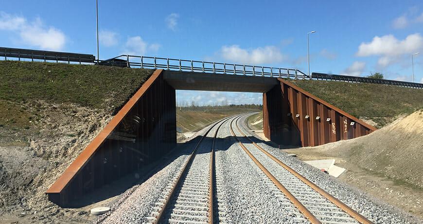 rådgivning, projektering, projektstyring, CSM, tilsyn, jernbanesikkerhed; Jernbane og metro