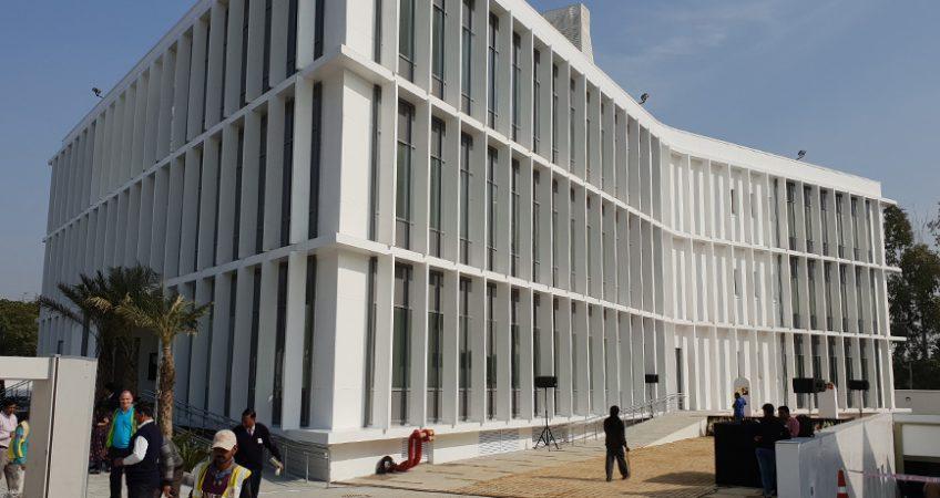 Ny ambassade i New Delhi